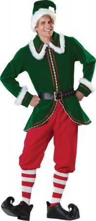 Men's Santa's Elf Costume