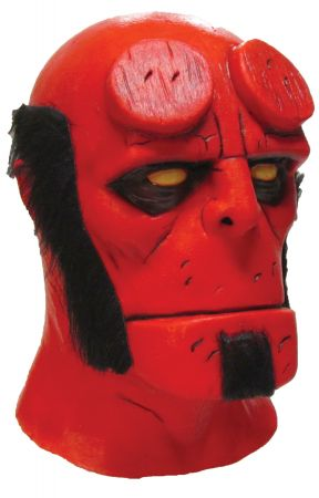 Hellboy Latex Mask - Dark Horse Comics