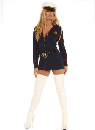 Women's Gentleman's Officer Costume