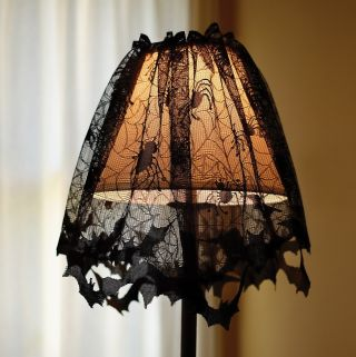 Lace Lampshade Topper