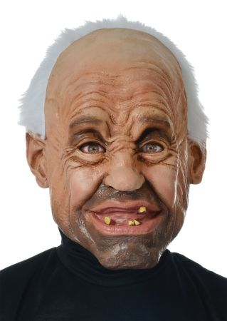 Gramps Latex Mask