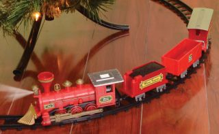 4-Piece Christmas Train Set