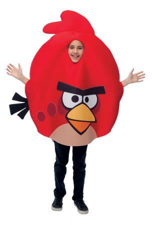 Red Child Costume - Angry Birds