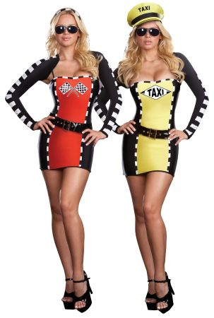 Drive Me Crazy Reversible Costume