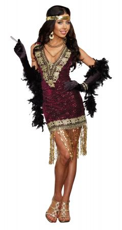 Women's Sophisticated Lady Costume