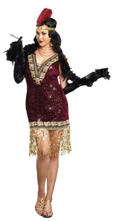 Women's Plus Size Sophisticated Lady Costume