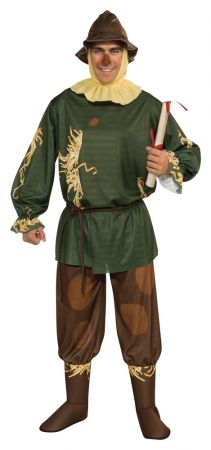 Men's Scarecrow Costume - Wizard Of Oz