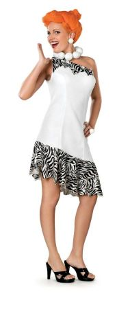 Women's Deluxe Wilma Costume - The Flintstones