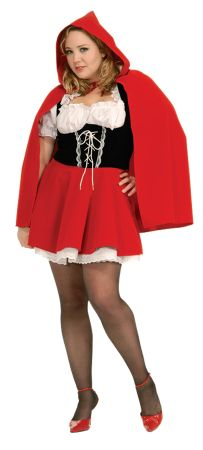 Women's Plus Size Red Riding Hood Costume