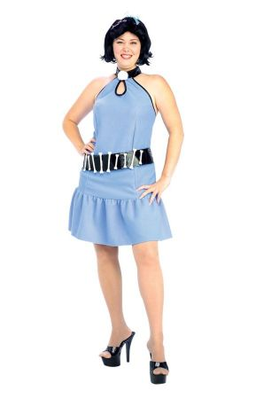 Women's Plus Size Betty Rubble Costume - The Flintstones