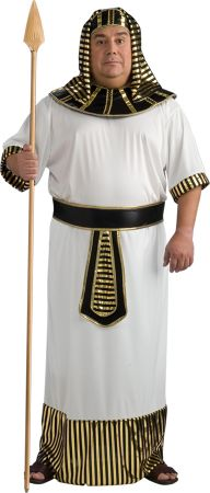 Men's Plus Size Pharaoh Costume