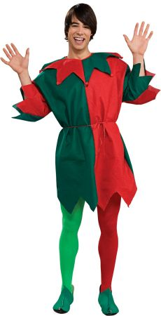 Men's Elf Tunic Costume