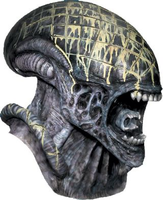 Deluxe Alien Overhead Latex Mask - Alien vs. Predator