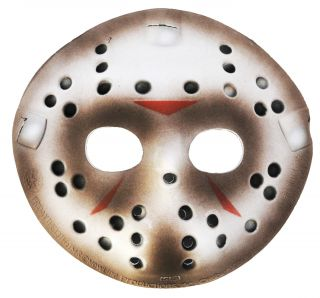 Deluxe Jason Hockey Mask - Friday the 13th
