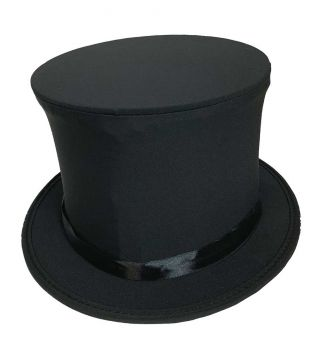 Top Hat Collapsible Black Adult