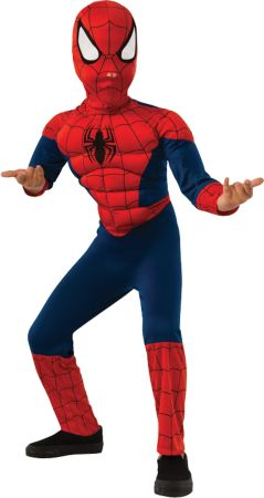 Boy's Spider-Man Muscle Costume