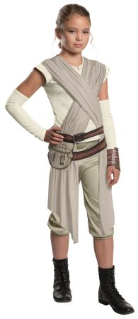 Girl's Deluxe Rey Costume - Star Wars VII