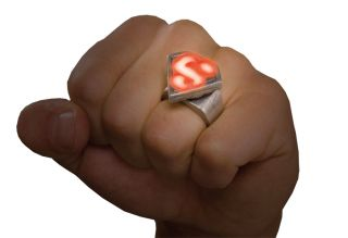 Superman LED Metal Ring