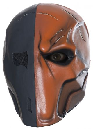 Deluxe Deathstroke Latex Mask - Arkham City
