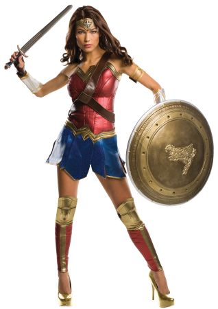 Women's Grand Heritage Wonder Woman Costume - Dawn of Justice