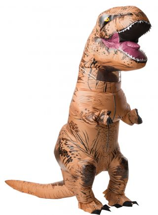 Adult Inflatable T-Rex with Sound Costume - Jurassic World