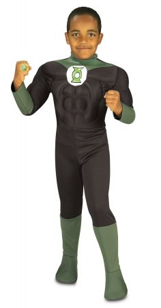 Deluxe Muscle Chest Green Lantern Costume