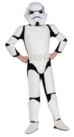 Boy's Deluxe Stormtrooper Costume - Star Wars Classic