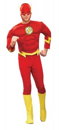 Men's Muscle Chest Flash Costume
