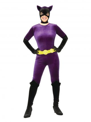 Women's Catwoman Costume - Gotham Girls