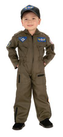 Boy's Air Force Fighter Pilot Costume