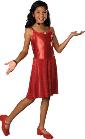 Girl's Deluxe Gabriella Costume - High School Musical