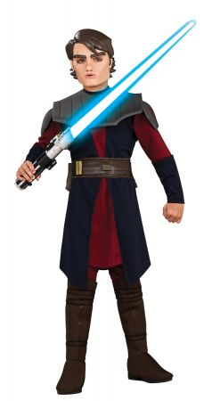 Boy's Deluxe Anakin Skywalker Costume - Star Wars: Clone Wars