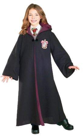 Child's Deluxe Gryffindor Robe - Harry Potter