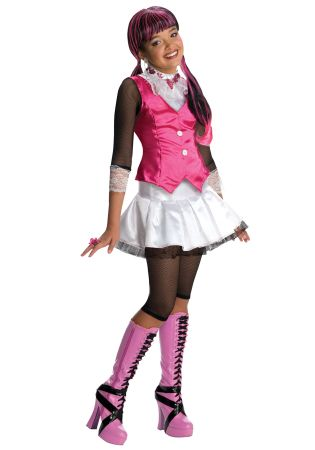 Girl's Draculaura Costume - Monster High