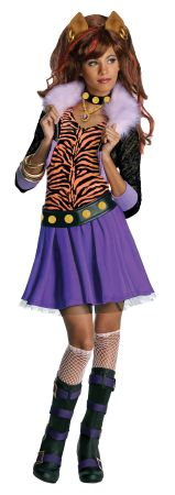 Girl's Clawdeen Wolf Dress - Monster High