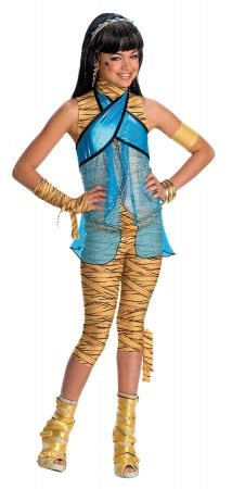 Girl's Child Cleo De Nile Costume - Monster High