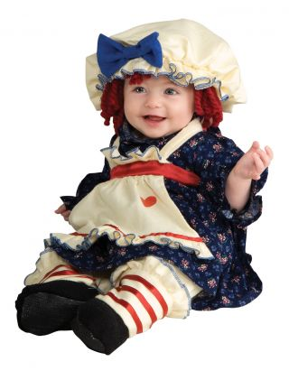 Girl's Ragamuffin Dolly Costume