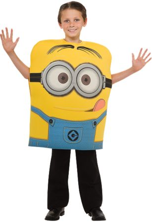 Boy's Foam Minion Dave Costume - Despicable Me 2