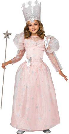Girl's Deluxe Glinda the Good Witch Costume