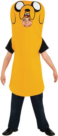 Boy's Adventure Time Jake Costume