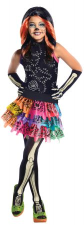 Girl's Skelita Calaveras Costume - Monster High