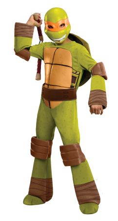 Boy's Michelangelo Costume - Ninja Turtles