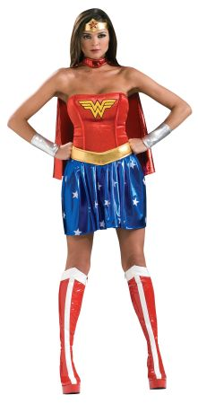 Women's Deluxe Wonder Woman Costume