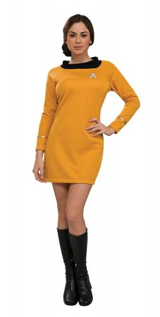 Women's Deluxe Gold Star Trek Dress