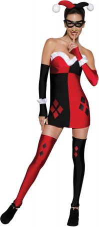 Women's Harley Quinn Costume - Gotham City Most Wanted