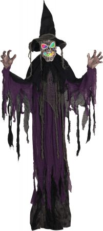 6' Hanging Creepy Witch