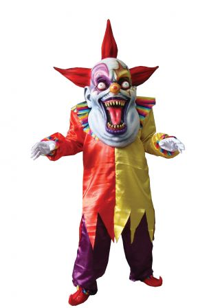 Evil Clown Oversize Costume