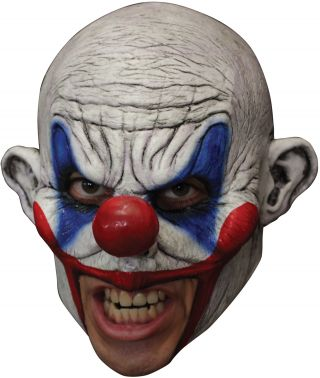 Clooney Clown Chinless Latex Mask