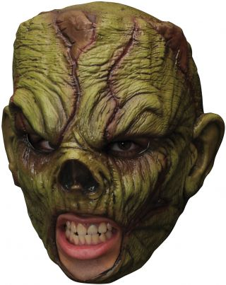 Monster Chinless Latex Mask
