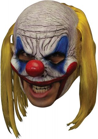 Deluxe Clooney Clown Chinless Mask